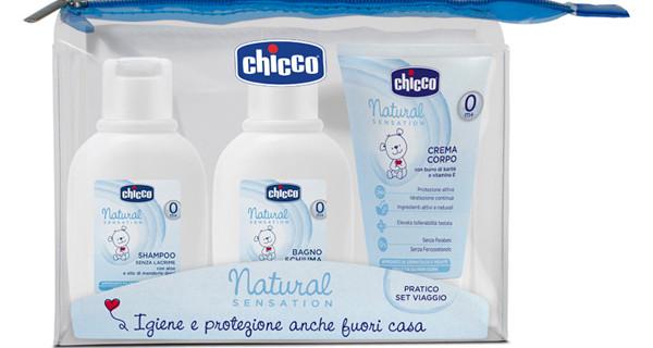 Chicco presenta la nuova linea cosmetica per neonati: Natural Sensation