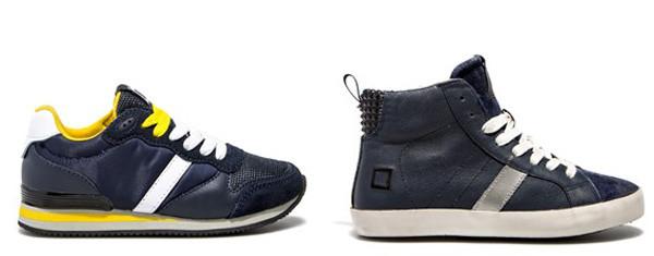 Scarpe per il back to school: i nuovi modelli di sneakers D.A.T.E. Kids