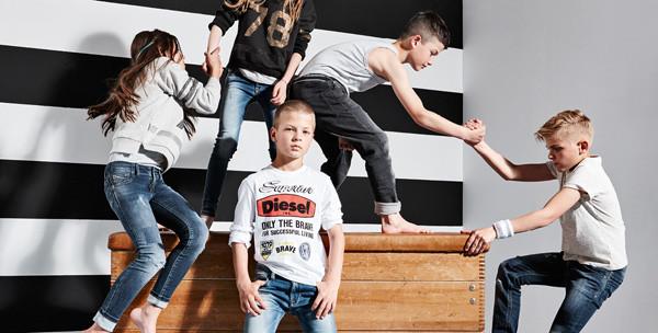 Diesel Kid svela la nuova campagna adv: bambini ribelli e sognatori!