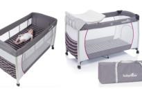 Famiglie in vacanza: ecco il lettino da viaggio per bebè