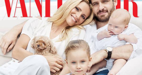 """Michelle Hunziker e la sua famiglia da copertina: """"Non siamo in crisi, le false voci ci fanno male"""""""