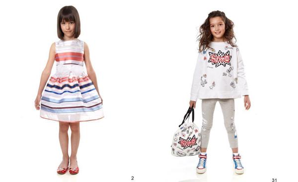 Cosa indosseranno le bambine l anno prossimo  La nuova collezione di  Simonetta 0ee29d88b22
