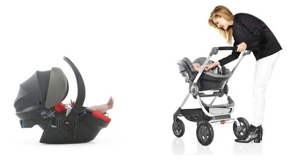 Stokke iZi Go X1 di Besafe: il seggiolino per auto che si adatta anche al passeggino