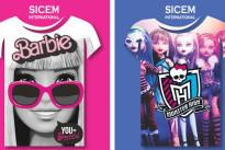 T-Shirt di Barbie per bambina: i nuovi modelli di Sicem