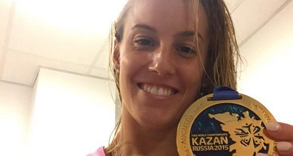 """Tania Cagnotto dopo la medaglia d'oro confessa: """"Terrò i miei figli lontani da questo sport"""""""