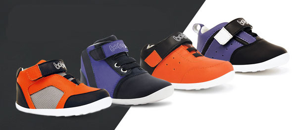 X Range di Bobux: la nuova capsule collection di scarpe per bambini