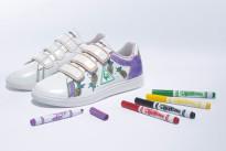 Scrivere sulle scarpe non è più un problema con il nuovo modello le coq sportif