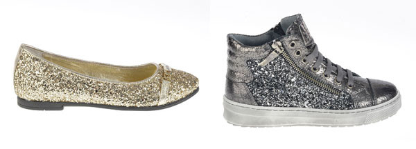 Scarpe color oro e argento per la prossima stagione: la collezione di Andrea Morelli Junior