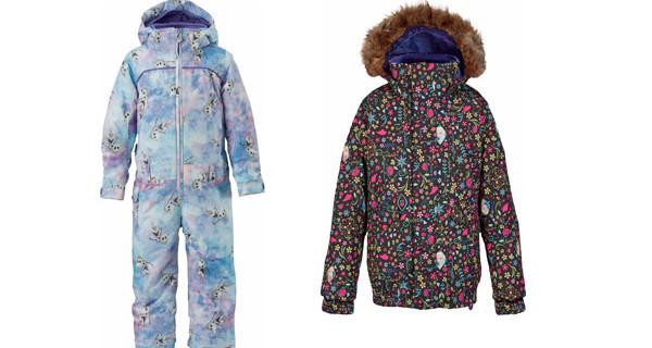Sulla neve con Frozen! I nuovi prodotti per bambina di Burton