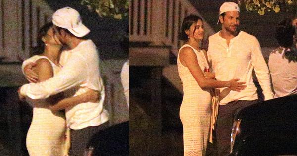 Irina Shayk (già) incinta di Bradley Cooper? Presentazioni in famiglia e pancino sospetto