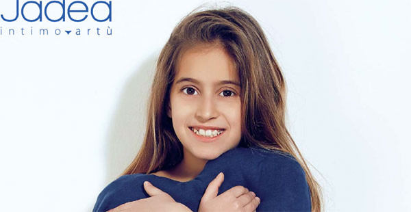 Jadea Baby presenta la nuova collezione di intimo per bambine