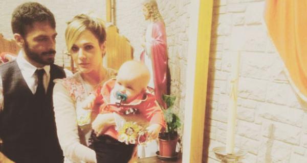 Marco Bocci: il Battesimo del figlio Enea e l'addio a Squadra Antimafia