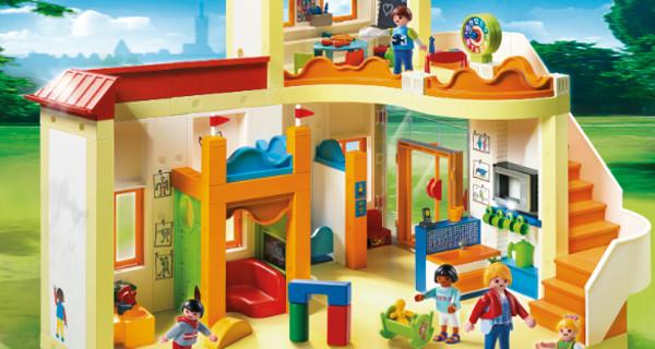 Primo giorno di asilo? I giochi Playmobil dedicati a questa tappa importante