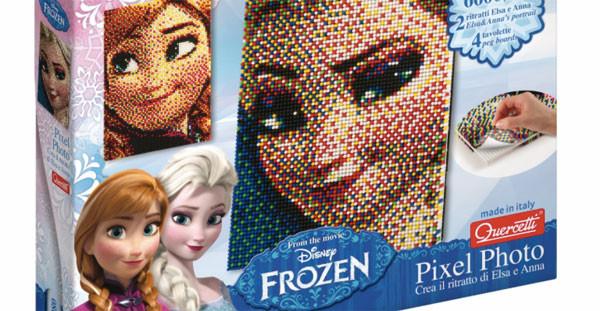Elsa e Anna di Frozen protagoniste del nuovo gioco Quercetti per bambine