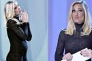 Ilary Blasi ieri sera a Le Iene: abito troppo esagerato per il quinto mese di gravidanza?