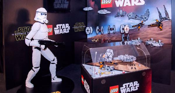 """Lucca Comics and Games 2015: il padiglione dedicato a """"Star Wars: Il Risveglio della Forza"""""""