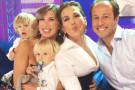 Veronica Maya a Domenica Live: il look dei suoi bambini