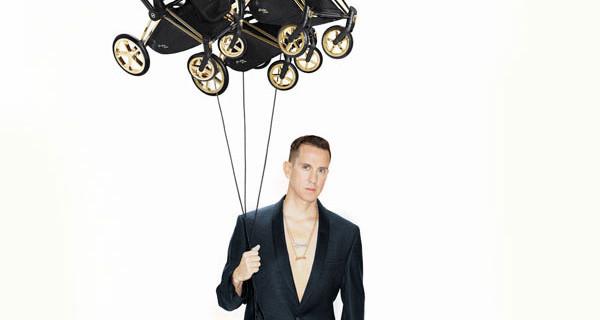 Cybex e Jeremy Scott presentano la nuova incredibile collezione di passeggini