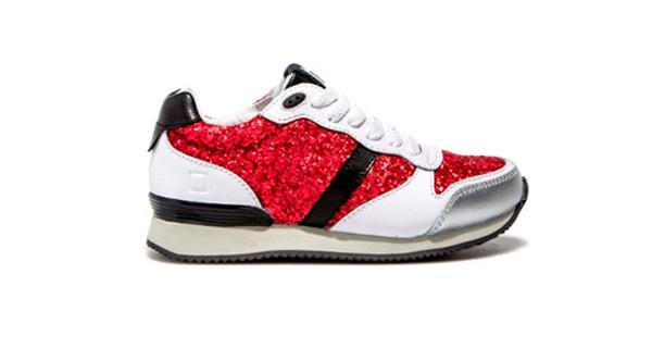 DATE Kids, i modelli di sneakers con i colori del Natale