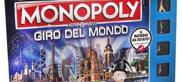 Arriva la prima edizione del Monopoly Giro del Mondo: le città scelte dal web