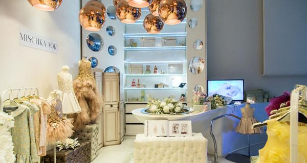 Mischka Aoki apre una nuova boutique nel cuore di Milano: il lusso della moda per bambine
