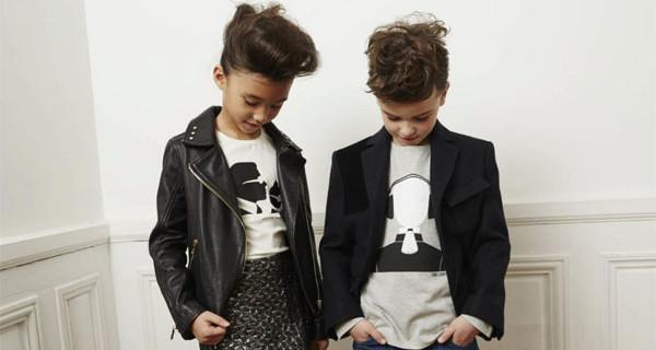 Karl Lagergeld Kids a Pitti Bimbo: la collezione per bambini rock-chic