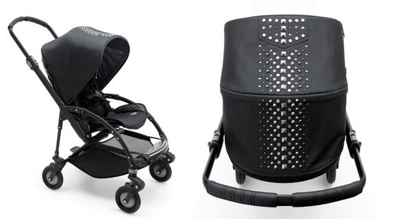 Bugaboo e Diesel: il passeggino con le borchie per bambini rock!