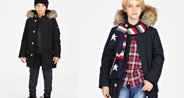 Woolrich Kid collezione Autunno Inverno 2016, le giacche per bambini belle come quelle dei grandi