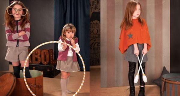 Il Circo Retrò di Babol Cachemire Milano, la nuova collezione per bambini