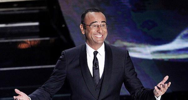 """Carlo Conti dopo il successo di Sanremo: """"La cosa più importante è la mia famiglia"""""""
