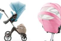 Vesti il passeggino con i colori dell'estate: arriva il Summer Kit di Stokke