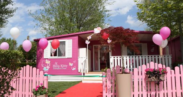 In vacanza nella casa di Hello Kitty!
