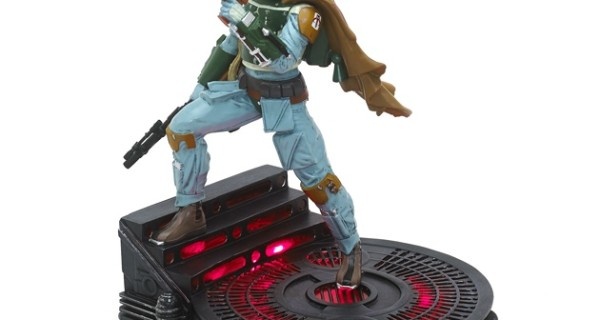 BOBA FETT LIMITED EDITION LIGHT-UP NEI DISNEY STORE