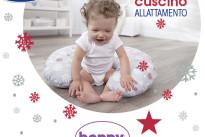 Regali di Natale per neo mamme: il cuscino allattamento boppy di Chicco