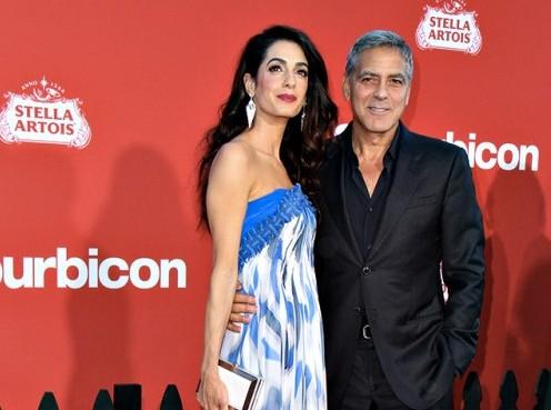 """George Clooney e Amal Alamuddin innamoratissimi a Los Angeles per  """"Suburbicon"""" c08f0fc8681"""