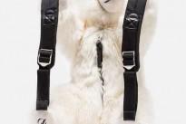 Lo zaino in eco pelliccia di Dolce e Gabbana per i più piccoli