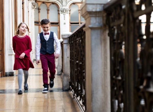 Come vestire i bambini per le feste di Natale? Ecco alcune proposte