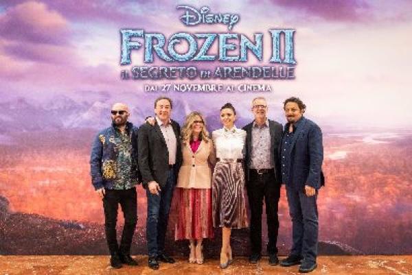 Anteprima italiana di Frozen 2 con Serena Autieri, Serena Rossi e Giuliano Sangiorgi